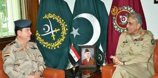 Pakistan values brotherly relations with Iraq: COAS
