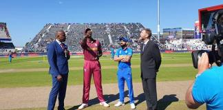 India decide to bat against West Indies in World Cup clash