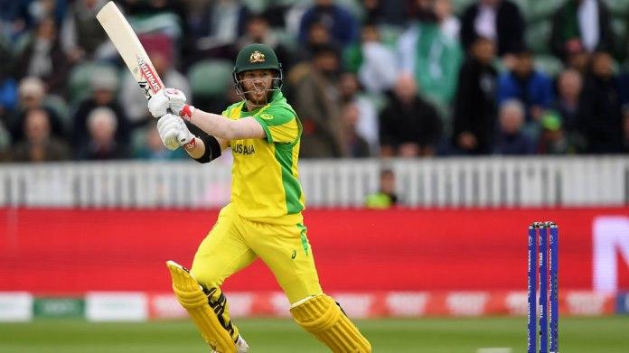 Warner ton against Bangladesh sends Australia top of World Cup table