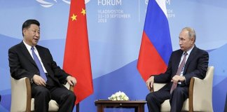 Russia, China to show united front at economic forum