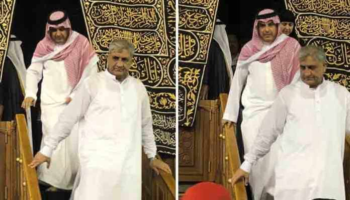 Doors of Holy Kaaba opened for Pakistan Army chief