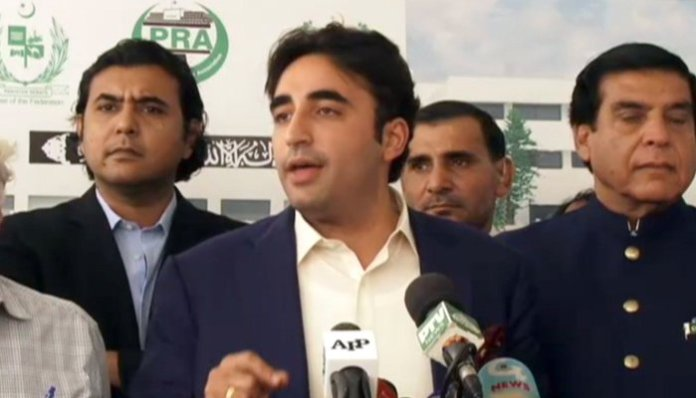 Bilawal Bhutto appears before NAB in JV Opal 255 company case