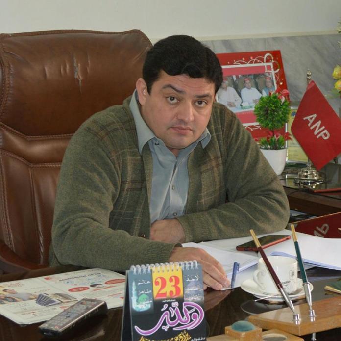 Case of ANP leader Sartaj Khan's murder registered