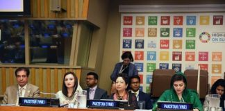 Pakistan presents progress report on anti-poverty and development plans to UN