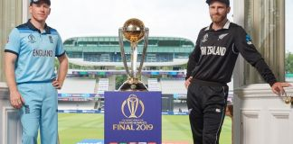 New Zealand opt to bat against England in World Cup final