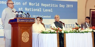 President stresses for prevention to cope with Hepatitis