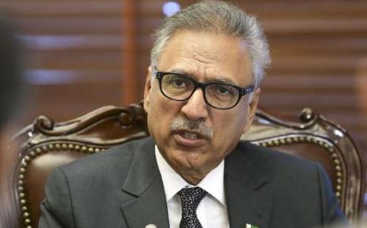 India playing with fire in Occupied Kashmir: President Alvi