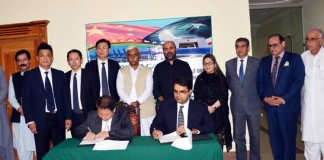 KP govt, China sign MoU to cooperate in different fields