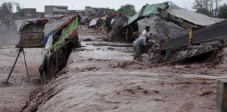 Flash flood kills six people including four women in Karak