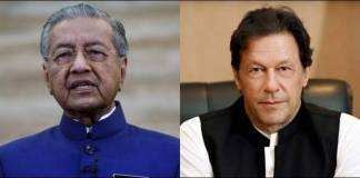 PM Imran apprises Mahathir of deteriorated situation in occupied Kashmir