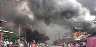 Thousands riot in Indonesia's Papua, parliament building torched