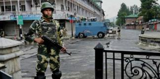 Strict curfew continues on 20th consecutive day in occupied Kashmir
