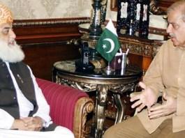 Shehbaz Sharif, Maulana Fazlurehman agree on Azadi March against PTI govt