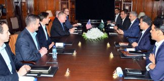 COAS, US delegation discuss geo-strategic environment & regional security