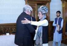 Asfandyar Wali Khan meets Afghan President Ashraf Ghani in Kabul