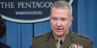 US CENTCOM commander General McKenzie arrives in Pakistan