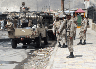 Two FC soldiers martyred in road accident in Chagai