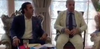 Shehbaz, Bilawal discuss political situation, JUI-F's Azadi March