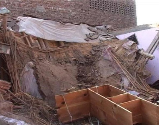 Five children die in madrassa roof collapse incident in North Waziristan
