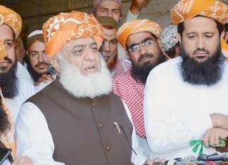 Fazlur Rehman summons opposition's APC to device anti-govt strategy