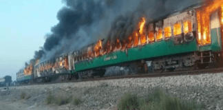 Death toll mounts to 65 from Tezgam train inferno near Rahim Yar Khan