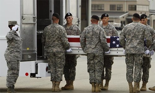 Two US service members killed in chopper crash in Afghanistan