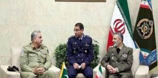 COAS Gen Bajwa, Iranian Army chief discuss defence cooperation