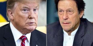 PM Imran, Trump Afghanistan peace and reconciliation process over phone