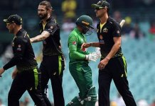 Pakistan set 107-run target for Australia in final T20