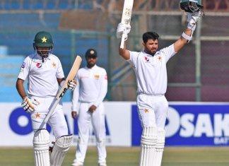 Azhar Ali hit century, Azam scores half-century in Sri Lanka Test