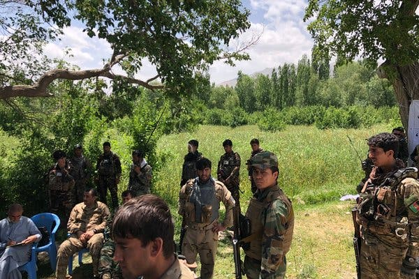 23 Afghan forces killed in Taliban insider attack in Ghazni