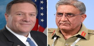Pompeo informs COAS about US action to kill Qasem Soleimani
