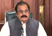 Rana Sanaullah regrets PML-N as part of undue haste in legislation