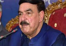 Sheikh Rasheed hopeful PTI govt will complete its tenure