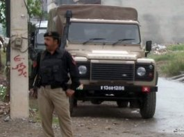 Five terrorists killed in security operation near Peshawar