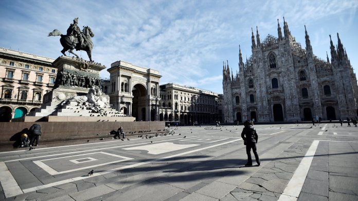 Italy to continue lockdown until Easter as Infections rate drops