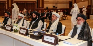 US officials meet with Afghan Taliban leaders in Qatar