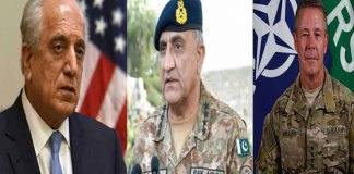 Army Chief, Zalmay, Gen Miller discuss regional security situation