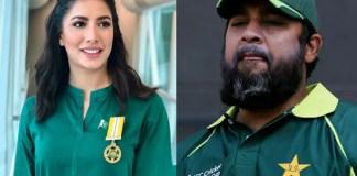 Inzamam-ul-Haq was my favorite Pakistan cricket team's captain: Mehwish Hayat