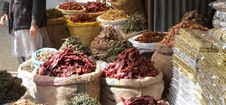 What is the hottest chilli in Kashmir's spice market?
