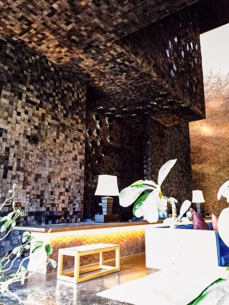 UPaasha Bali Seminyak Reception Desk