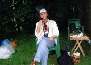 Известный археолог Максим Левада. Фото: Википедия
