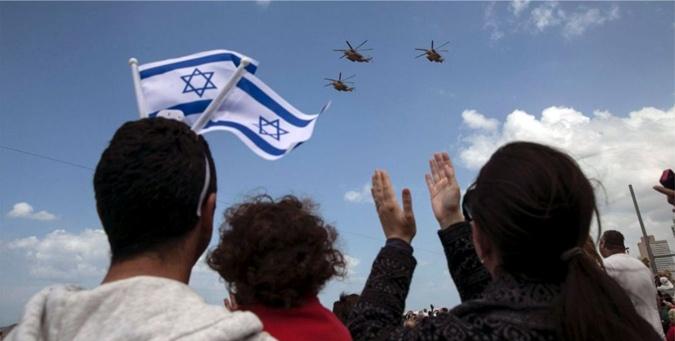 Воздушный парад ко Дню независимости Израиля. Фото: Google