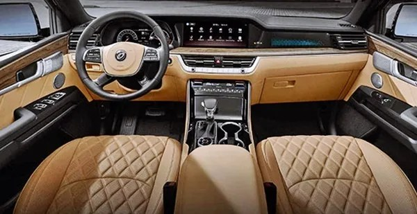 2021 KIA Borrego Interior