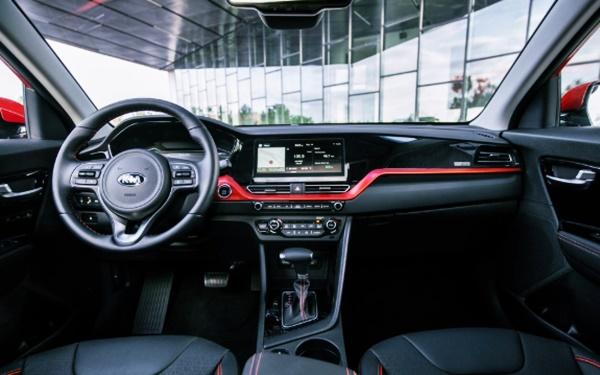 2021 KIA Niro Hybrid Interior