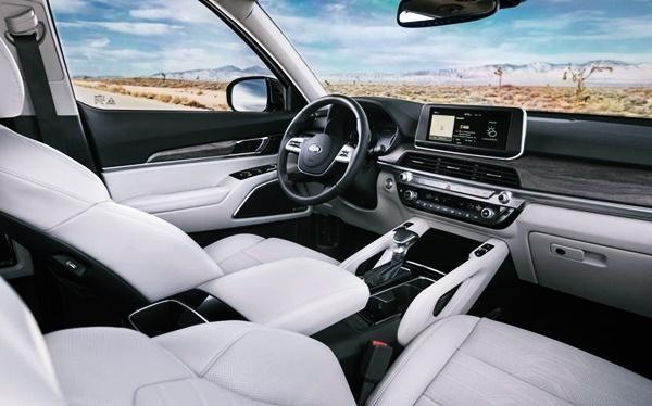 2021 KIA Telluride Hybrid Interior