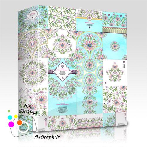 دانلود وکتور گل و بوته های زیبا از شاتر استوک-کد 1004