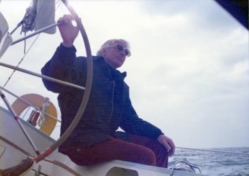 Jim Kilroy, 1970s, Kialoa III steering