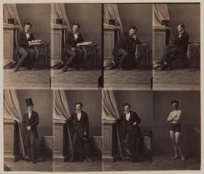 Edgar Degas, photograph