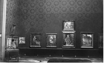 Nadar's studio was the site for the first Impressionist Exhibition in 1874